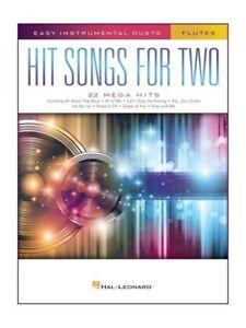 Chansons à Succès Pour Deux Flûtes Apprendre à Jouer Présent Flute Duet Sheet Music Book-afficher Le Titre D'origine Fogfmjr1-07182656-461349753