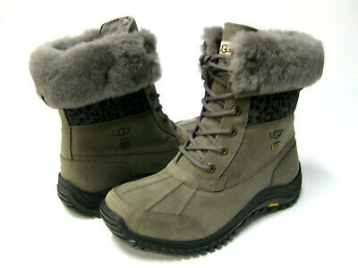 2fa85448f5c UGG ADIRONDACK II EXOTIC WOMEN WINTER BOOTS CHARCOAL US 10 /UK 8 /EU ...
