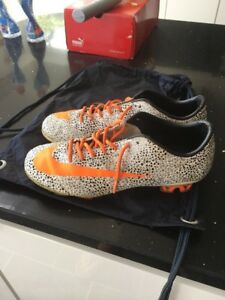 new concept 6c9c0 9773e Details about Nike Mercurial Vapor Superfly Safari Football Boots FG Size 8