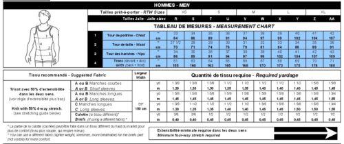 Jalie Men/'s /& Boys Figure Skating Bodyshirts Sewing Pattern 2802 in 22 Sizes