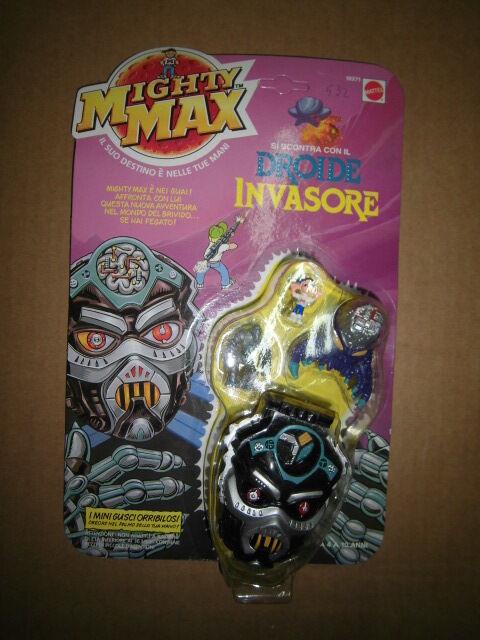 MIGHTY MAX Droide Invasore MATTEL
