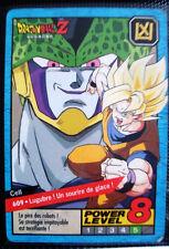 A682 CARTE CARD FR  DRAGON BALL Z  N 609 POWER LEVEL 8