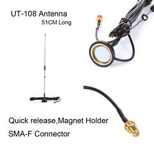 NAGOYA UT-108UV Radio Antenna SMA Dual Band for Kenwood WOXUN BAOFENG YAESU ICOM