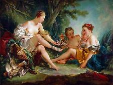 PAINTING ALLEGORY ROMAN DAVID OATH HORATII LARGE ART PRINT POSTER LF1393