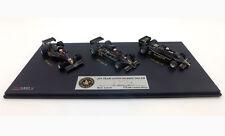 True Scale Miniatures TSM JPS Lotus 77/78/79 Set signed Mario Andretti F1 1/43+