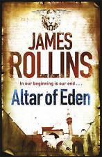 Altar of Eden by James Rollins (Paperback, 2010) New Book