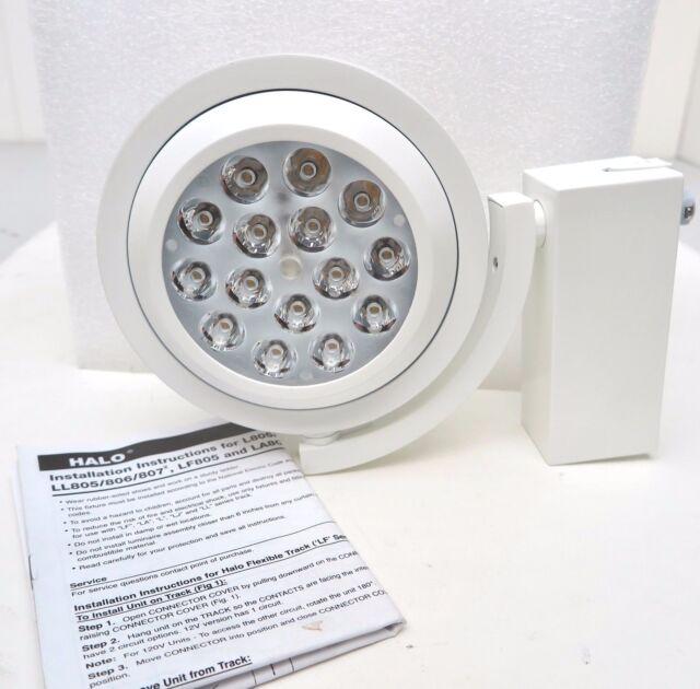 Cooper Lighting Halo 806 L806ho Led Track Fixture L806hosp8030 Aluminum Haze