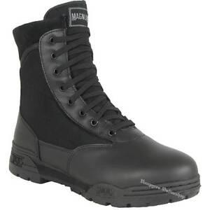 Original Magnum Zapatos Hi Botas Security Ver De Classic Tec Boots Título Regular Hitec Black Negro Detalles 8nwkZNPXO0