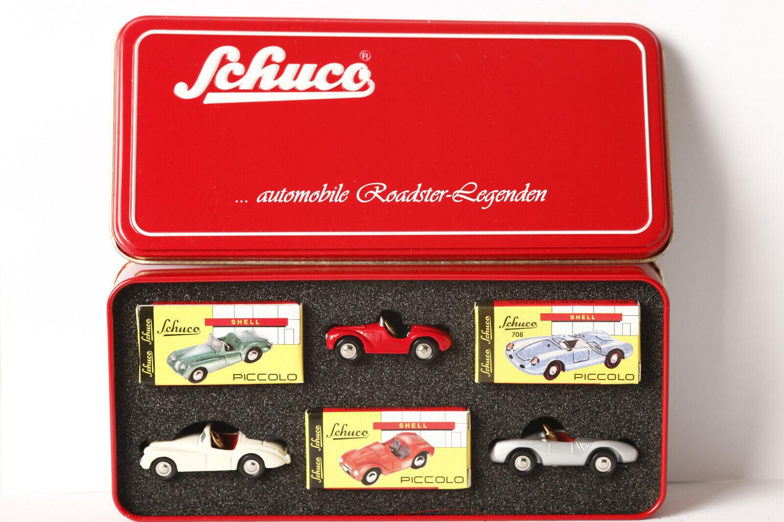 Venta barata Schuco Piccolo 77302 3er set roadster leyendas xx120 xx120 xx120 barchetta Spyder (65100)  oferta especial