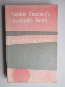Acceptable-Senior-Teacher-039-s-Assembly-Book-Prescott-D-M-1975-01-01-Cracked