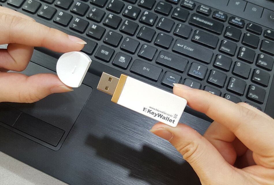 KeyWallet TOUCH CARD Key Wallet Hardware BTC LTC ETH BCH