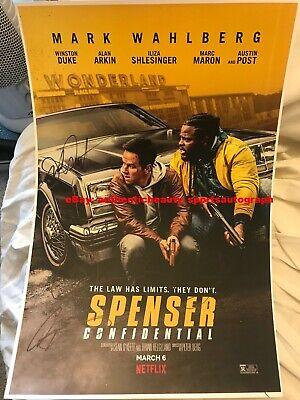 Spenser Confidential Signed Movie Poster 12x18 Reprint Wahlberg Duke Austin Berg Ebay