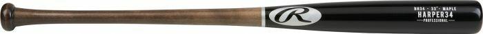 Nueva etiqueta Bryce Harper Arce Rawlings Pro 34  BH34PL bate de béisbol madera