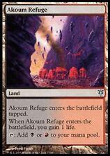 *MRM* ENG 4x Refuge d'Akoum (Akoum Refuge ) MTG Duel deck