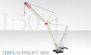 Conrad-2744-0-Terex-3800-Superlift-Crawler-Crane-1-50-scale-Die-cast-MIB