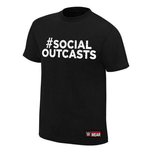 """Officiel wwe-exclus sociaux /""""maintenant tendances/"""" authentique T-shirt"""