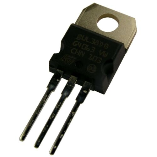 2 BUL38D NPN Power Transistor BUL38 D STM TO-220 450V 5A 80W Diode TO220 854837