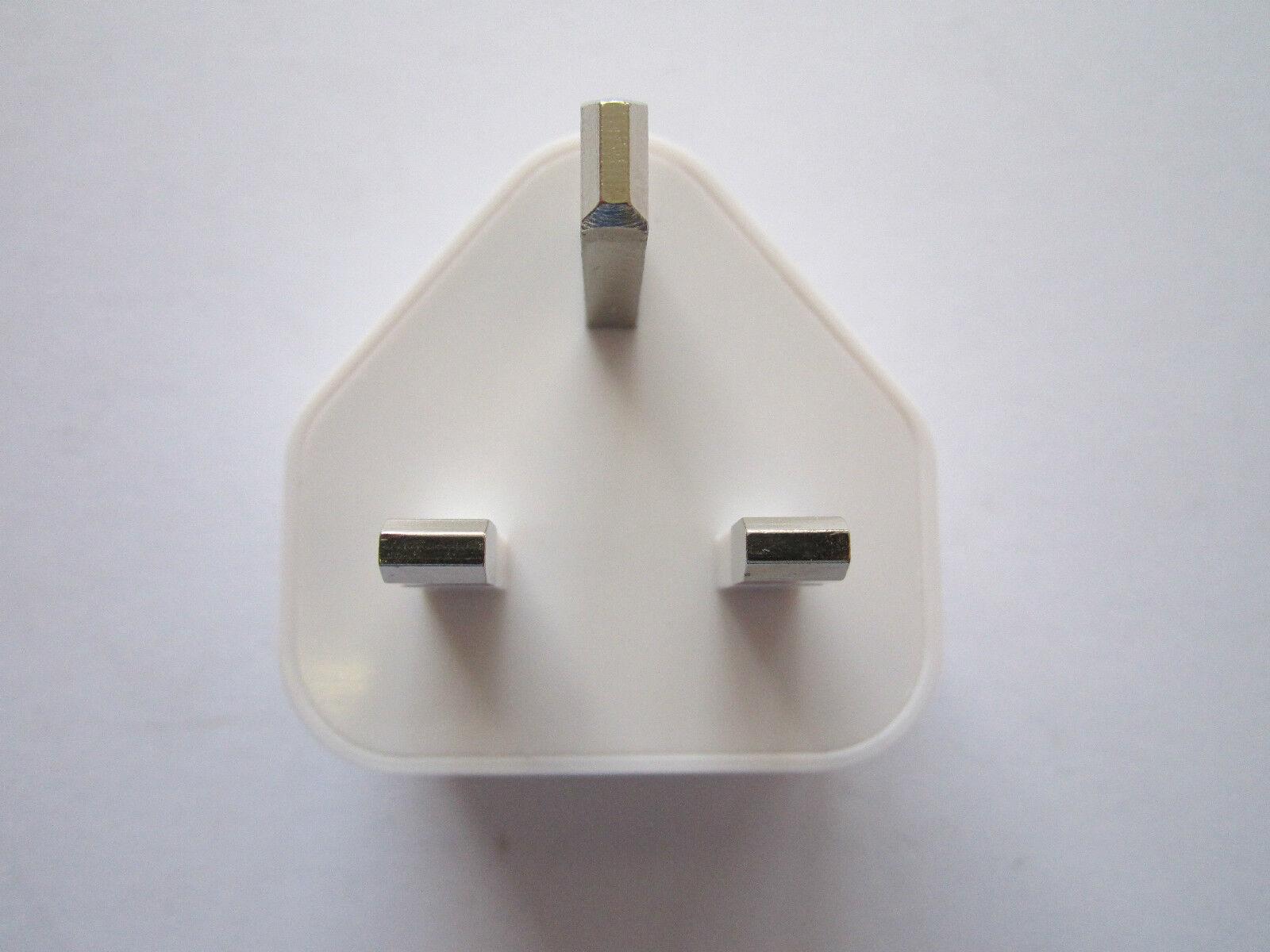 5V 2A 2000mA White Mains Double USB Port Plug LA-520A AC Power Adaptor Charger