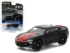 2016-Chevrolet-Camaro-SS-Black-GM-Collection-Series-1-Model-Greenlight-27870E