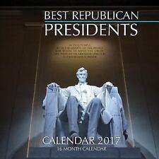 BEST REPUBLICAN PRESIDENTS Calendar 2017: 16 Month Calendar by David Mann...
