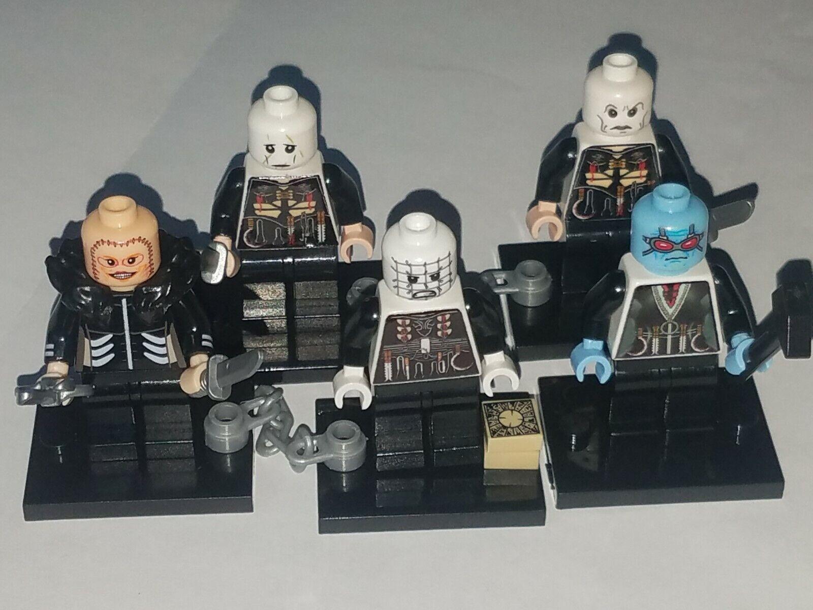 Lego cabeza de alfiler y su cenibites