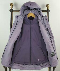 UNDER-ARMOUR-Womens-Medium-3-in-1-ColdGear-Infrared-Lavender-Jacket-New-199