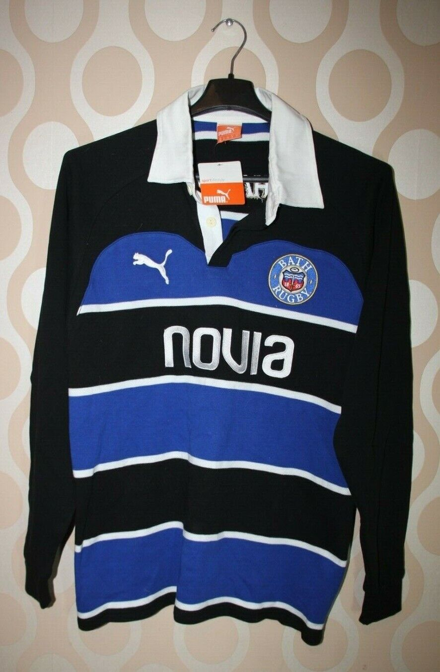 Rugby Union Bath Rugby 2011 Home Puma Jersey Long-Sleeved (HRK)