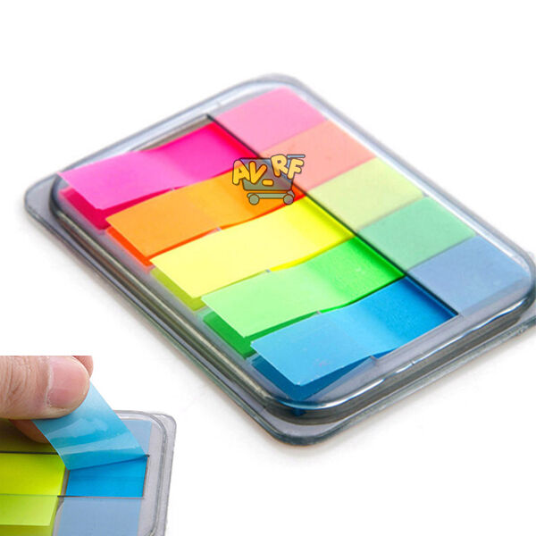 Hot Small Sticky Post-It Note Paper Diary Notebook Memo Pad Tab Note Book Office
