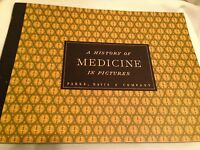 A History of Medicine in Pictures Parke Davis & Co 1957 Colorful Prints
