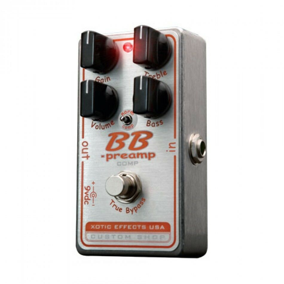 Xotic Effects BB Preamp Comp BBP-COMP Overdrive New Guitar Effect Pedal
