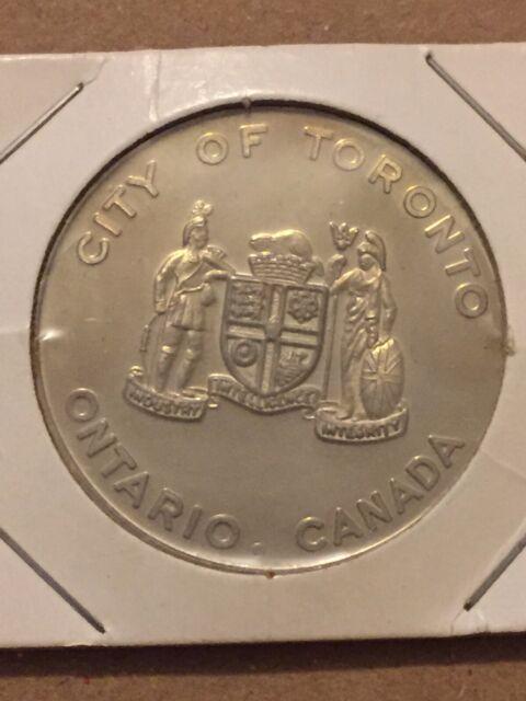 Vintage Token, City Of Toronto City Hall Visit. Ontario Canada Coin Token T11