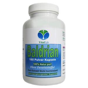 Baldrian-180-Pulver-Kapseln-Ohne-Zusatzstoffe-100-Natur-26400