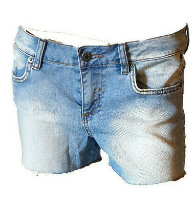 Shorts Pantaloncino Jeans Bermuda Hot Pants Donna Casual Sexy Element Tg. 41 42