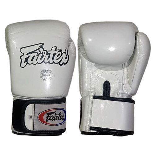 Fairtex BGV1 Tight Fit Boxhandschuhe - Weiß