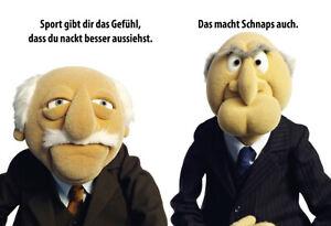 Muppets-Waldorf-amp-Statler-Motif-8-Tin-Sign-Shield-7-7-8x11-13-16in-FA0642