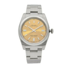 Rolex Oyster Perpetual 36mm Steel White Grape Dial  Mens Watch 116000WGSO
