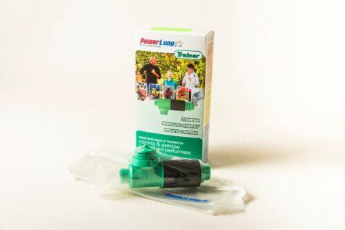 PowerLung Trainer Respiratory Trainer Green