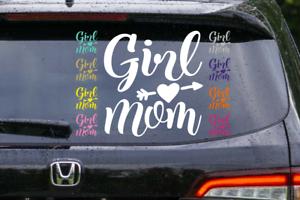 Girl Mom Vinyl Decal
