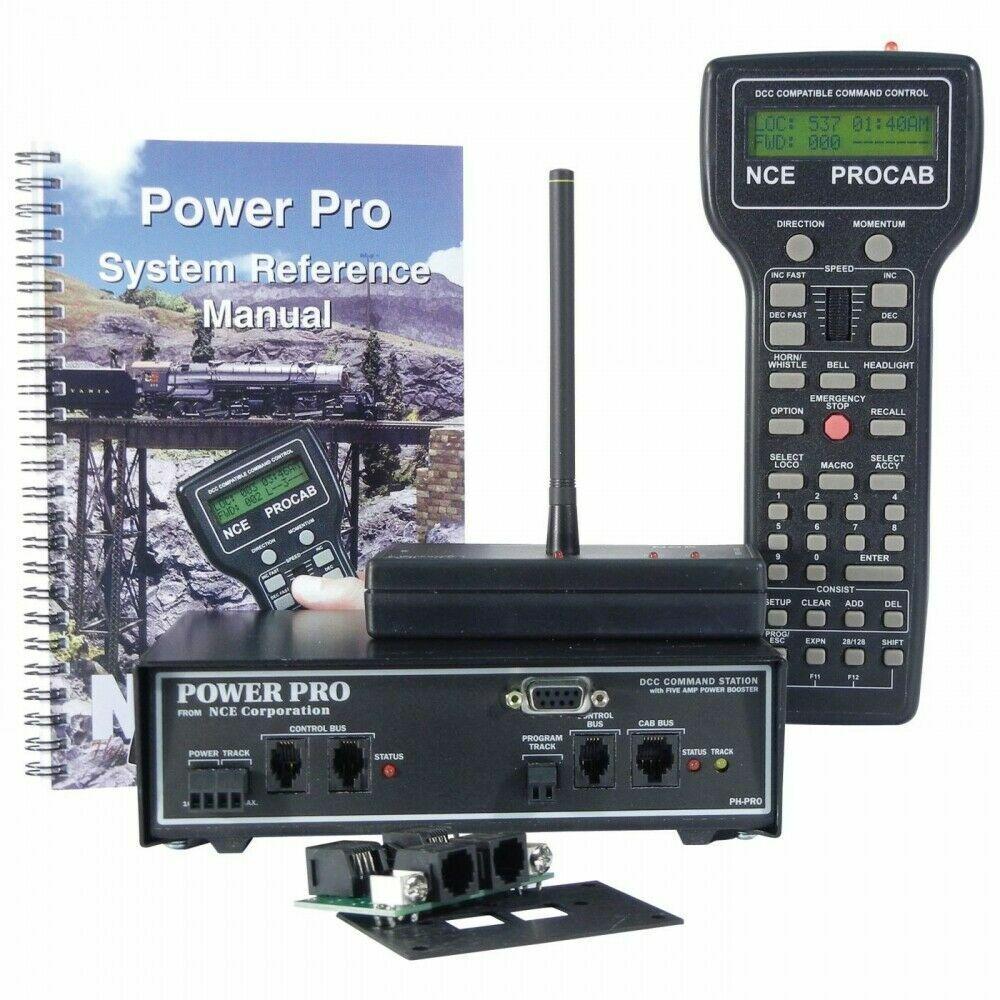 buen precio NCE 5240002 Power Pro-R Estrellater Set con radio PH-PRO-R 5A 5A 5A 5 Amp 52402 NCE2  Más asequible
