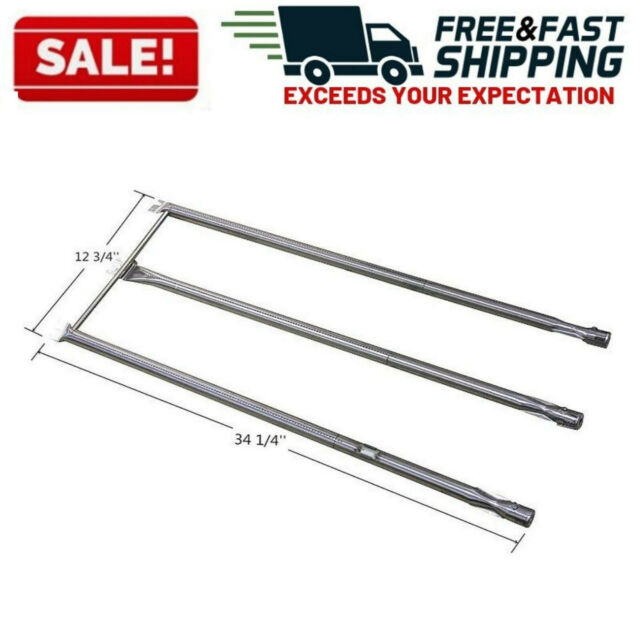 Gas AUSSIE Grill Stainless Steel Burner Pipe Replacement Part 16801
