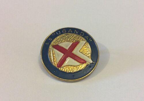 Vintage SS Uganda Pin Badge