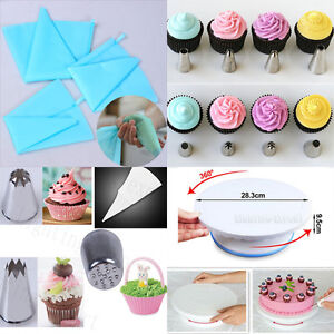 How To Use Cake Decorating Nozzles : 100Pcs Disposable Piping Bag & Icing Nozzle Fondant Cake ...
