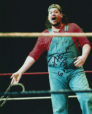 Carlos Colon Signed Autographed 8x10 Photo w//COA WWE WWF TNA Wrestling