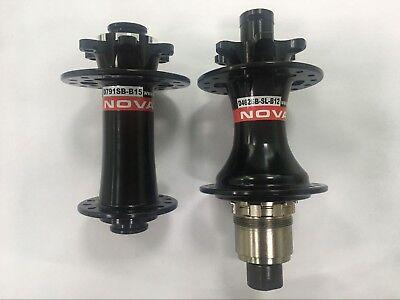CSC NOVATEC Boost D791SB-B15*110 D462SB-B12*148 Bicycle Disc Hub 6 Bolts 28H