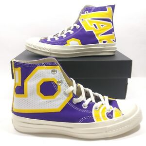 3a3902578f9ef Converse Chuck Taylor 70 Hi Lakers NBA Collection Lebron James Size ...