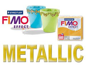Panetto 57 gr FIMO SOFT EFFECT METALLIC Pasta Modellabile