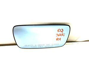 BMW 3 5 SERIES RH Passenger Side Mirror Right Heated Heat Glass Blue E46 E39 OEM