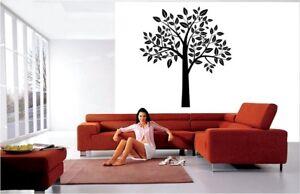 Tree Wall Stickers Big Size Wall Art Autocollant Vinyle Décor Fleurs Flore-afficher Le Titre D'origine ArôMe Parfumé