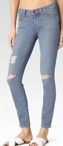 Destructed Jeans Ankel Skinny Transcend Annora Nwt Verdugo Sz Paige 27 Ultra 0wWqx6P8