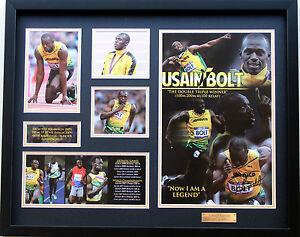 New-Usain-Bolt-Signed-Limited-Edition-Memorabilia-Framed